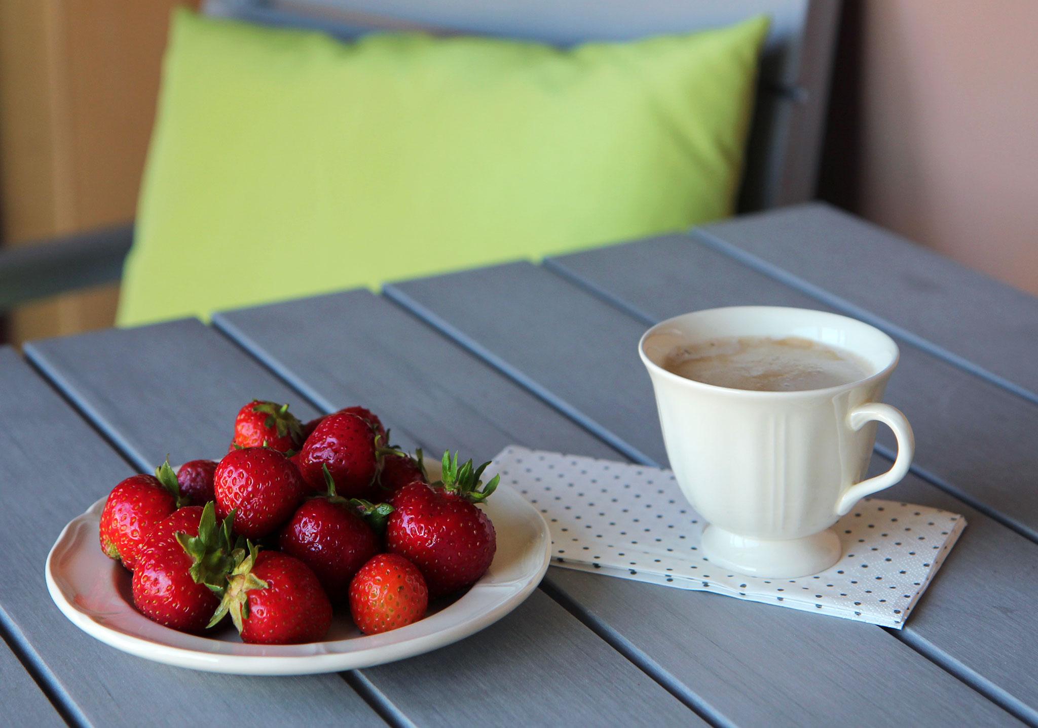 Летний завтрак. Блиц: ягоды