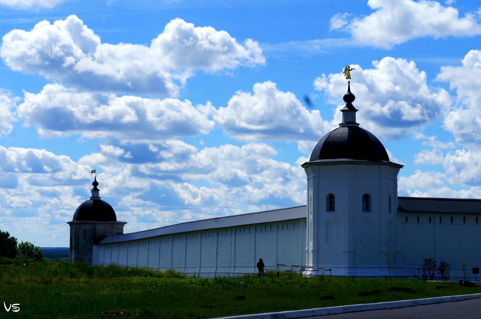 Небо над Свенским Монастырем. Блиц: летнее небо