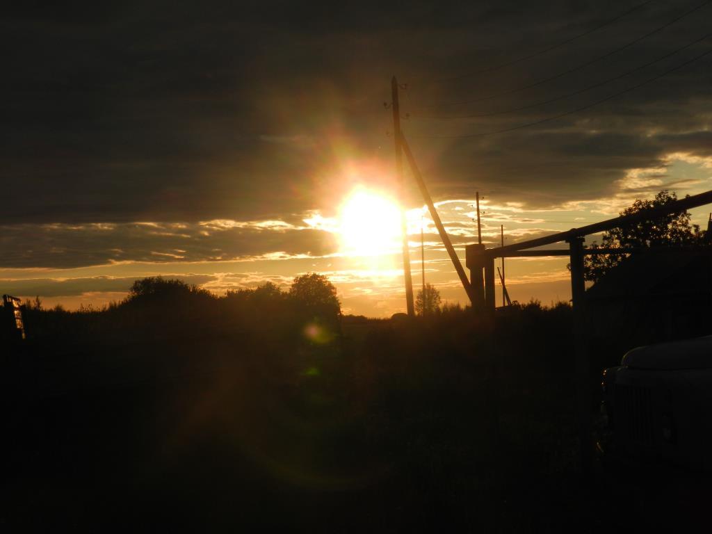 Закат. Блиц: летнее небо