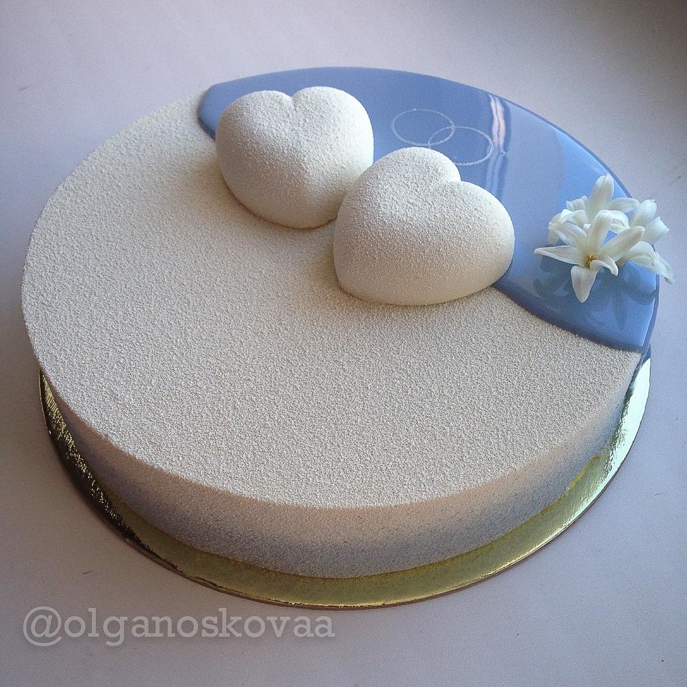 Зеркальный торт