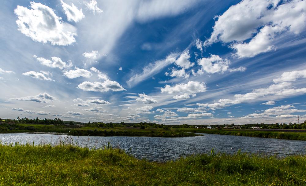 Облака. Блиц: летнее небо