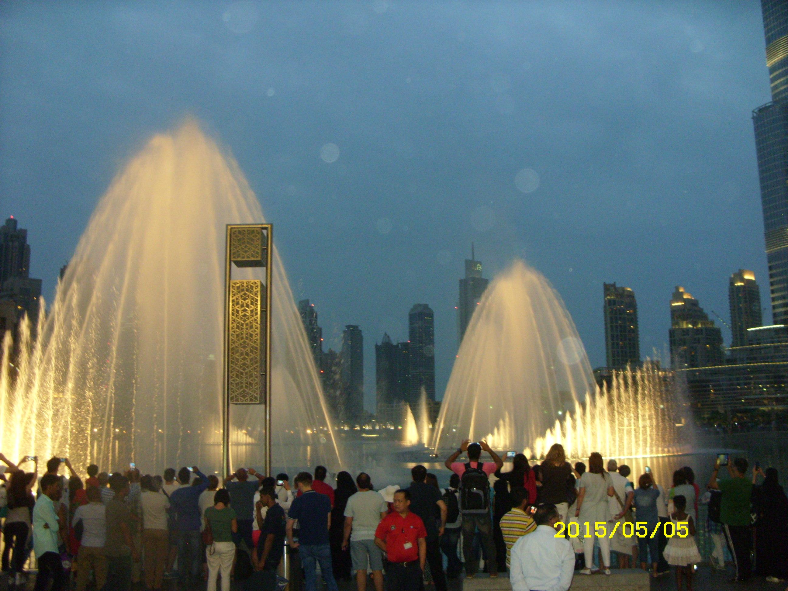 поющие фонтаны в Дубае. Блиц: фонтаны
