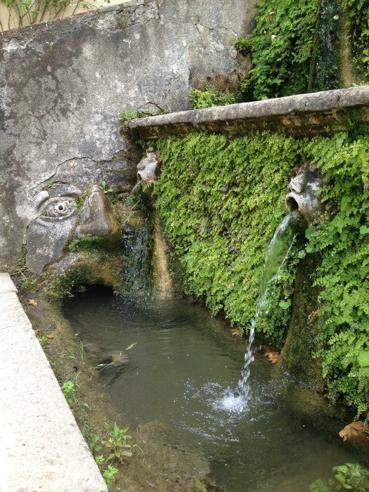 Начало Дороги ста фонтанов на вилле д'Эсте. Блиц: фонтаны