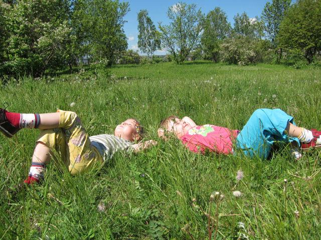Мы на солнышке лежим.... Летнее очарование