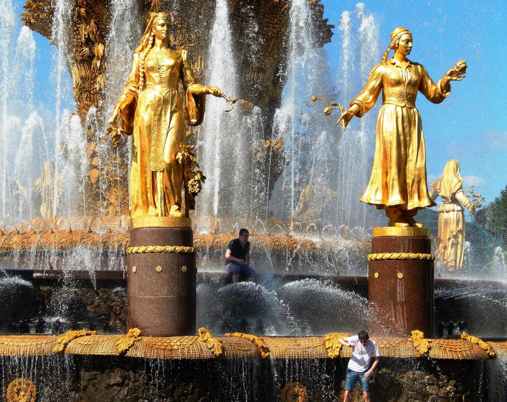 Дружба Народов. Блиц: фонтаны