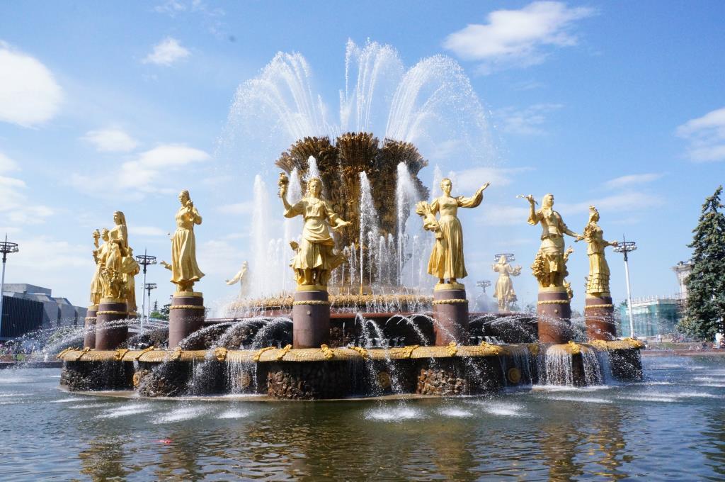 Фонтан 'Дружба народов'. Блиц: фонтаны