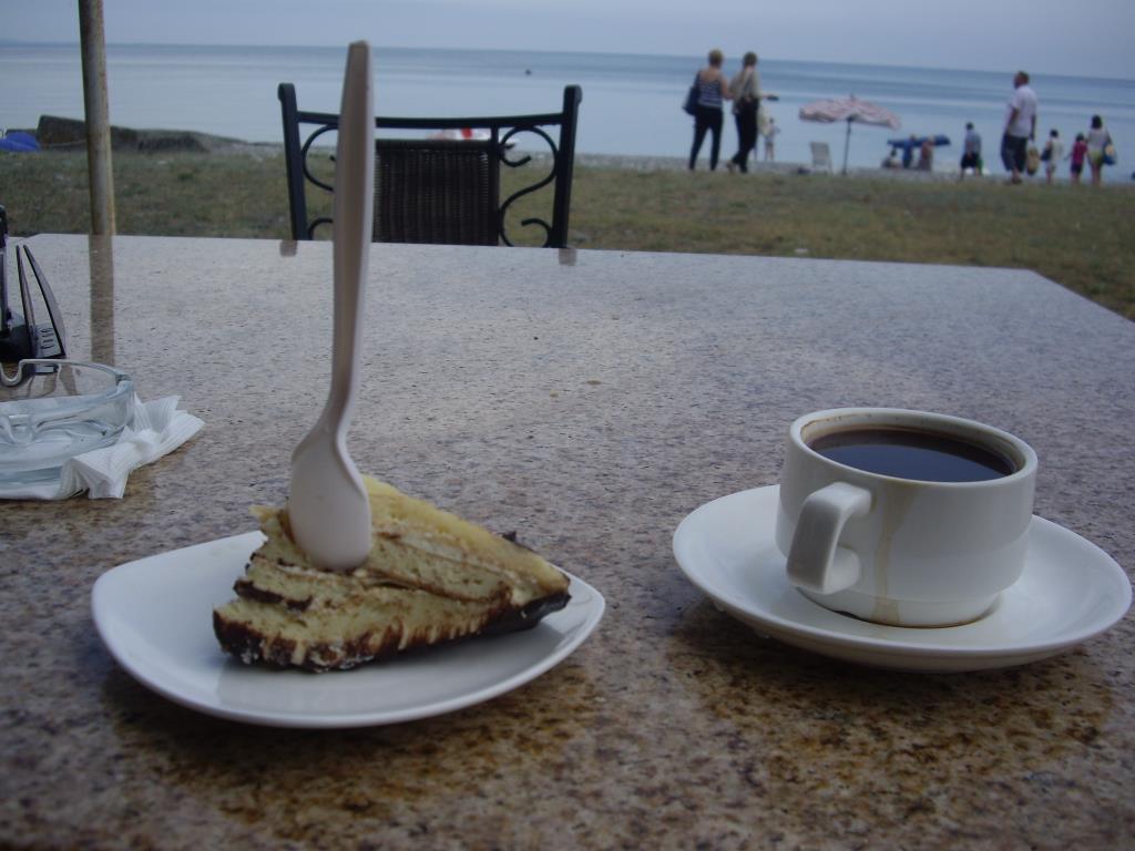Торт Черепашка в ресторане курортов Пицунда . Блиц: десерты
