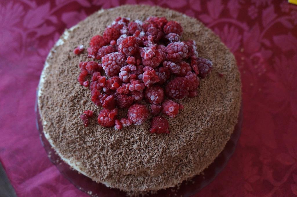 Торт 'Вдохновение'. Блиц: десерты