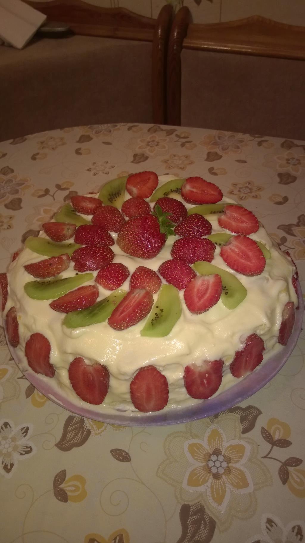 очень простой и невероятно вкусный торт 'Восторг'. Блиц: десерты