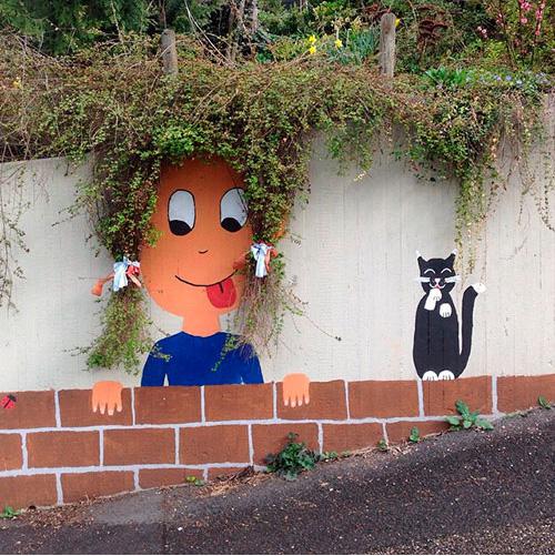 Граффити. Блиц: стены