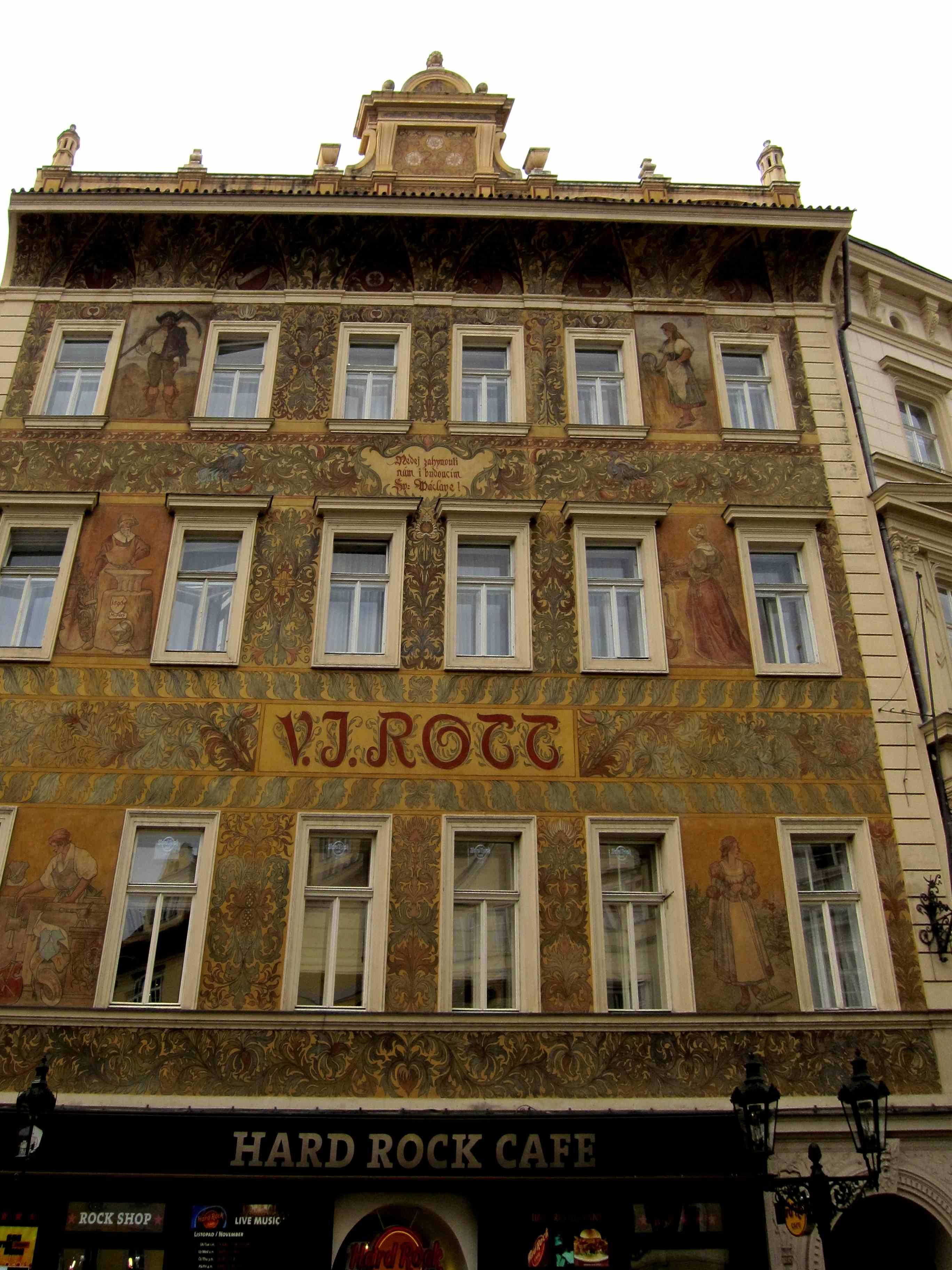 Прага. Блиц: стены