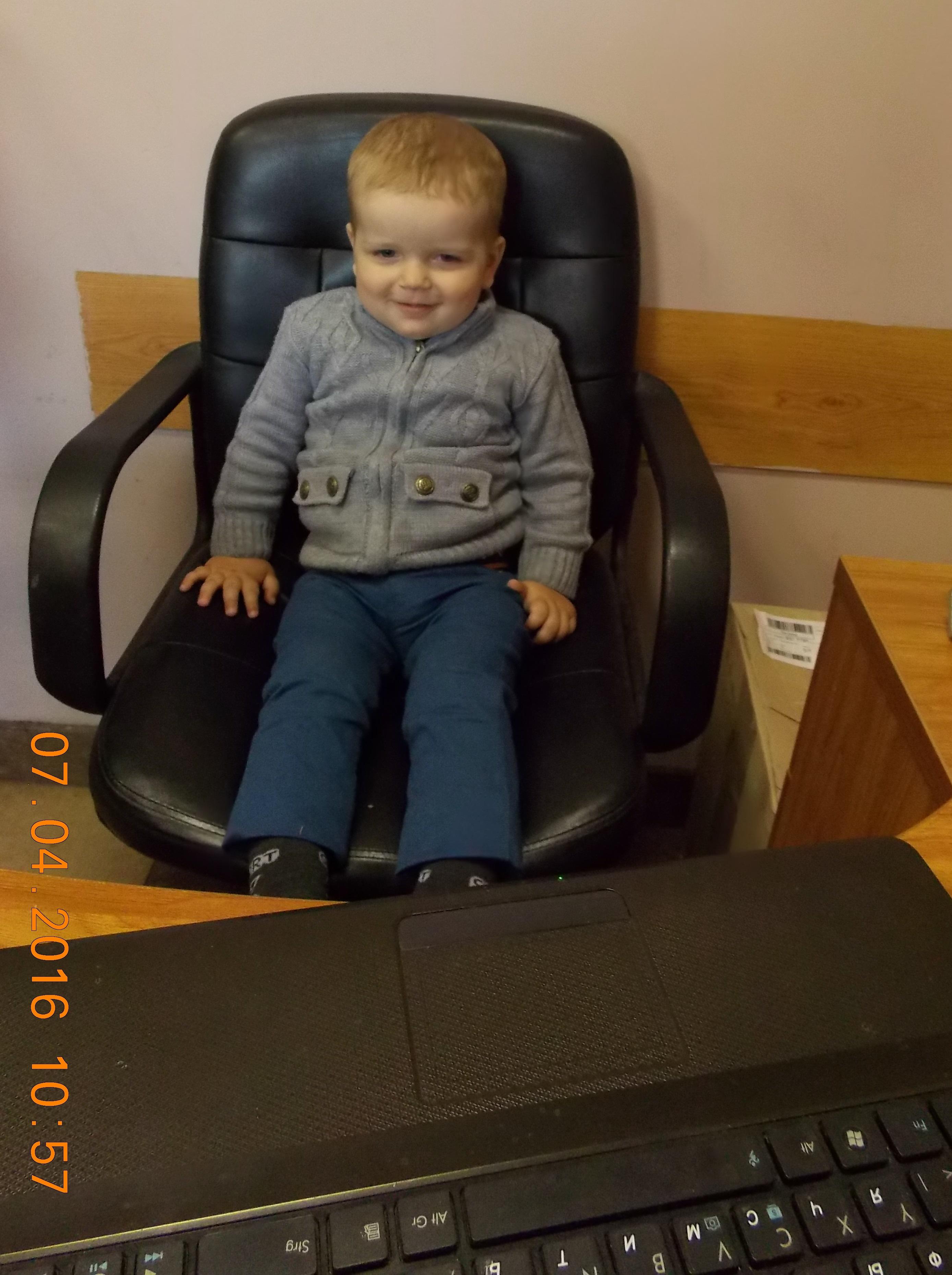Маленький директор ;-). Дети в интернете