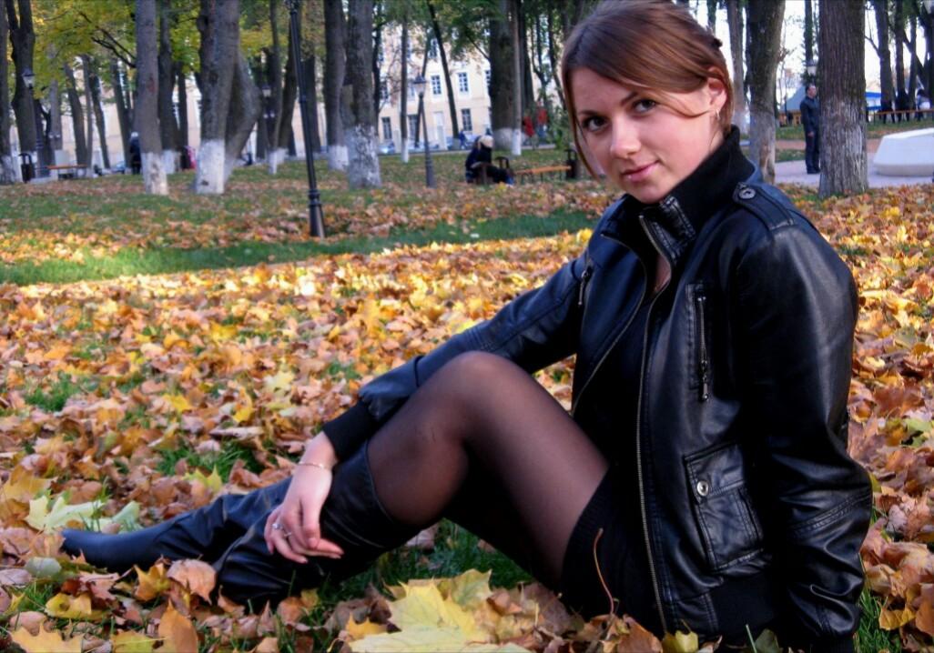 В осеннем парке . Осенний образ