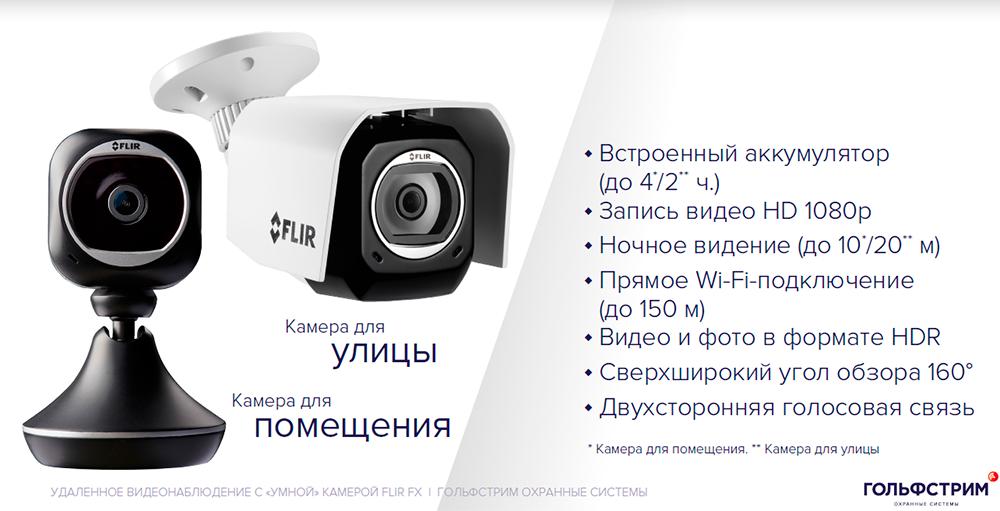 Видеокамера FLIR FX