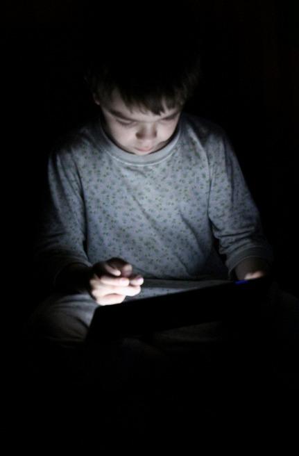 Вечерний серфинг в интернете. Дети в интернете