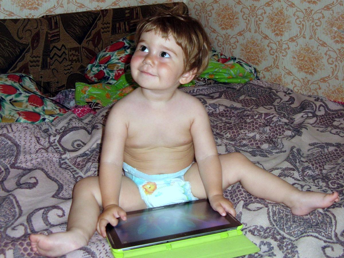 Мечтатель. Дети в интернете