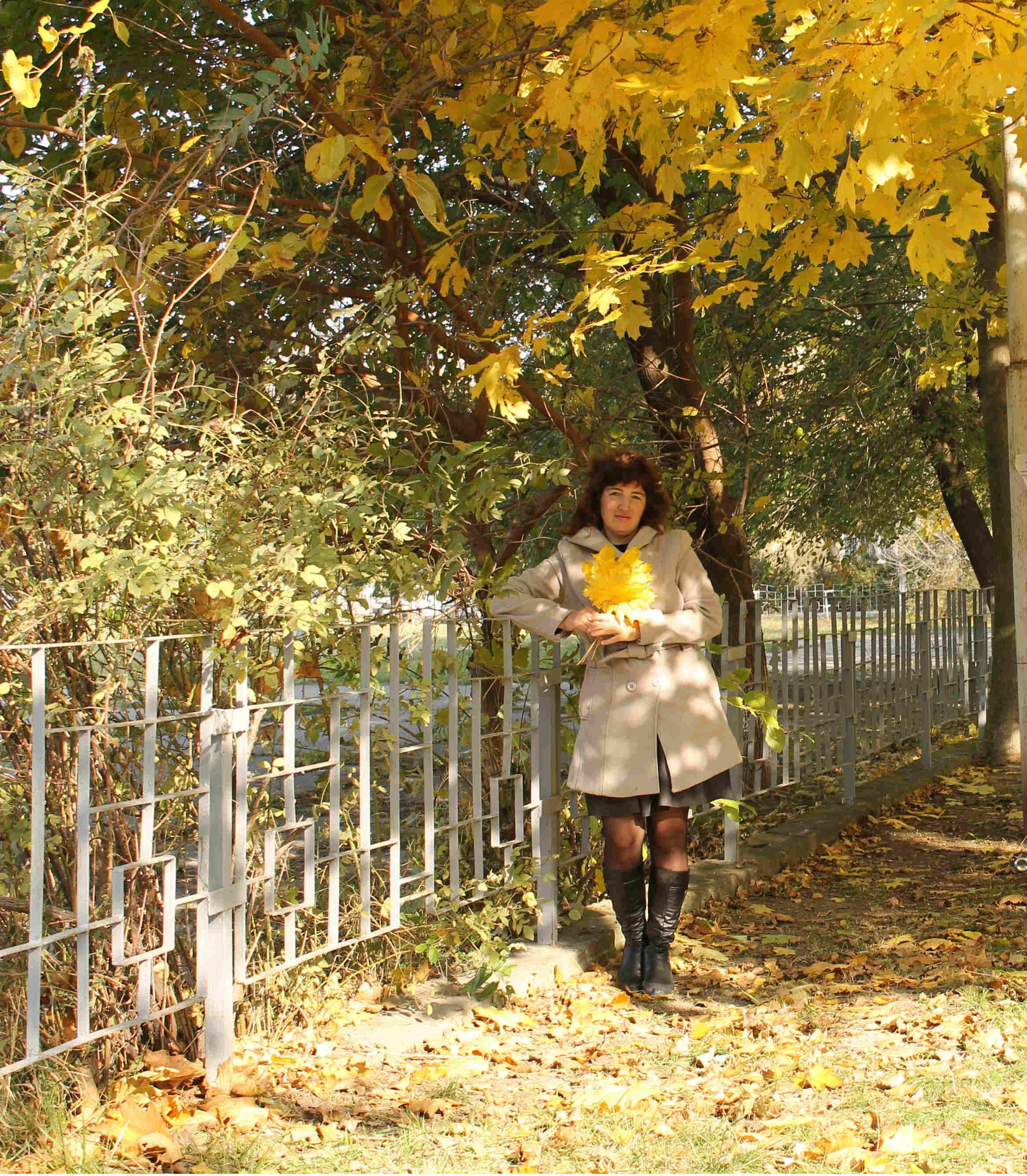 Южная осень. Осенний образ