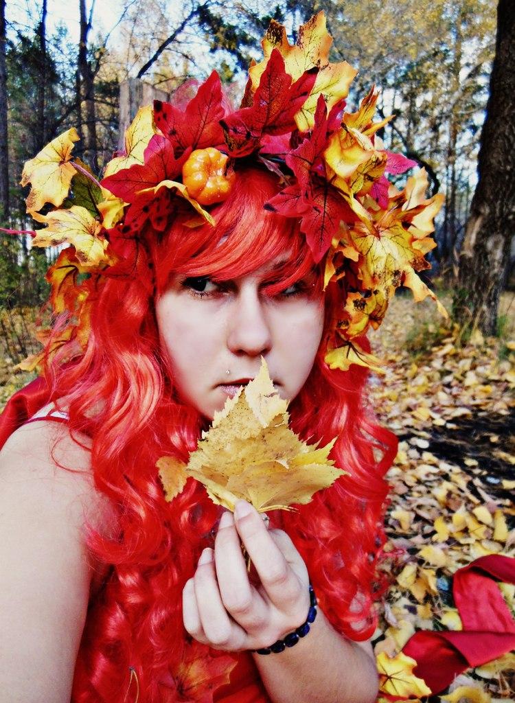 Осенняя дива. Осенний образ