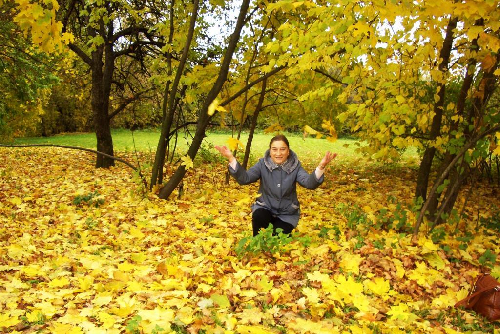 Осенний листопад. Осенний образ