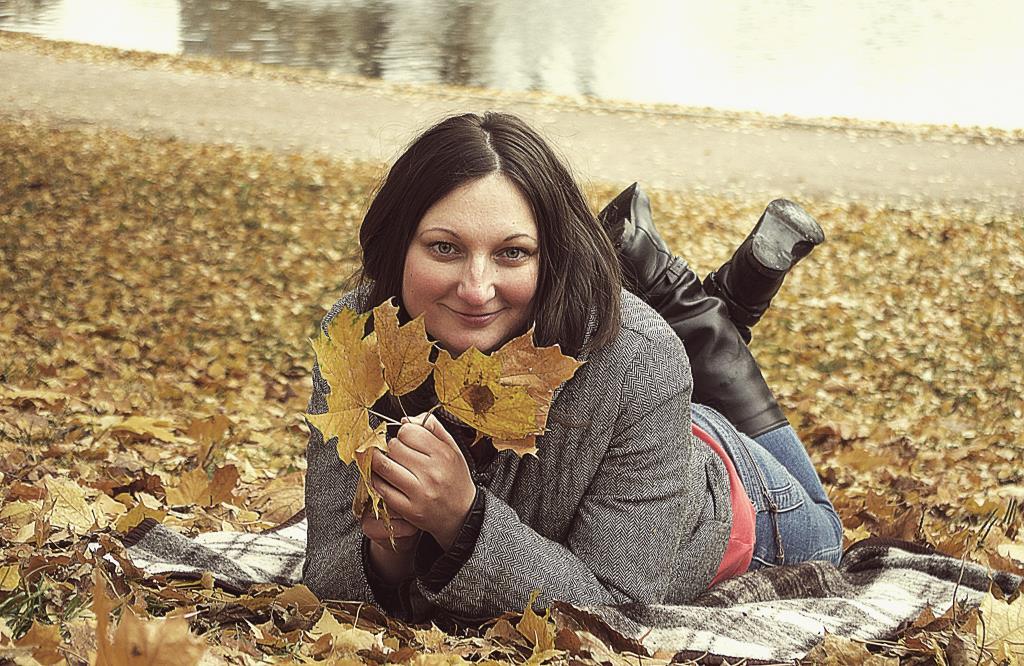 Ловим теплые осенние денечки.. Осенний образ