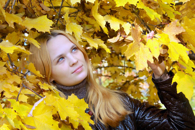 Золотая осень. Осенний образ