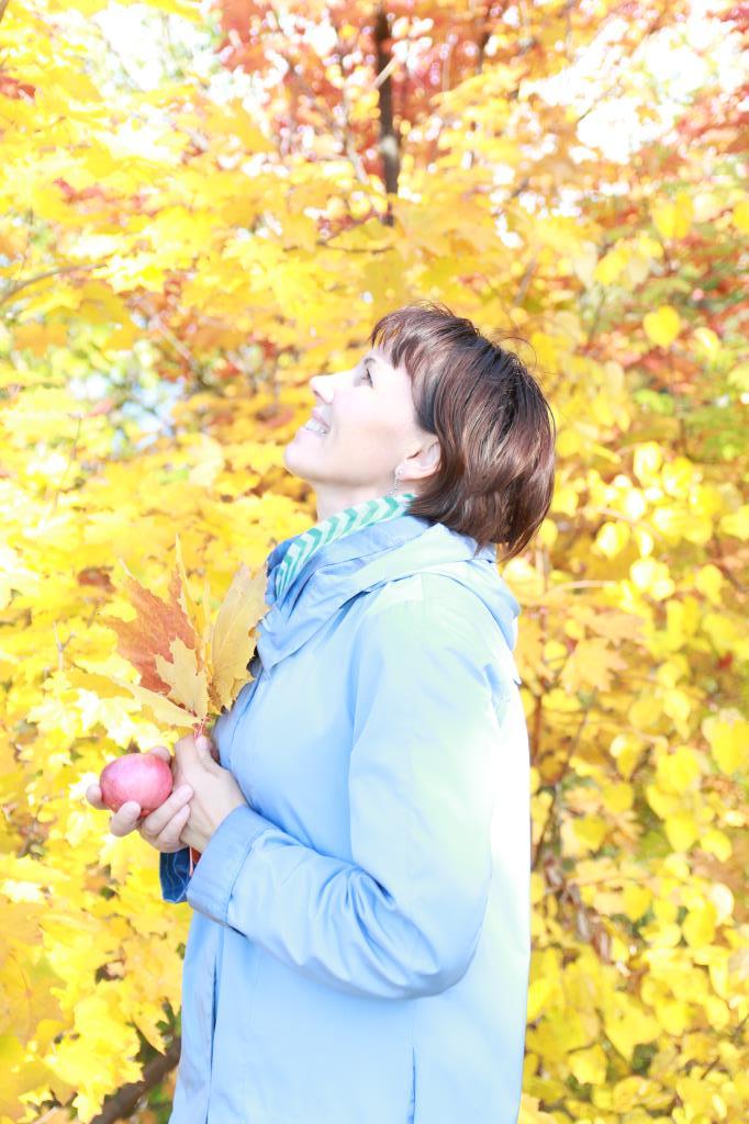 В объятиях золотой осени.... Осенний образ
