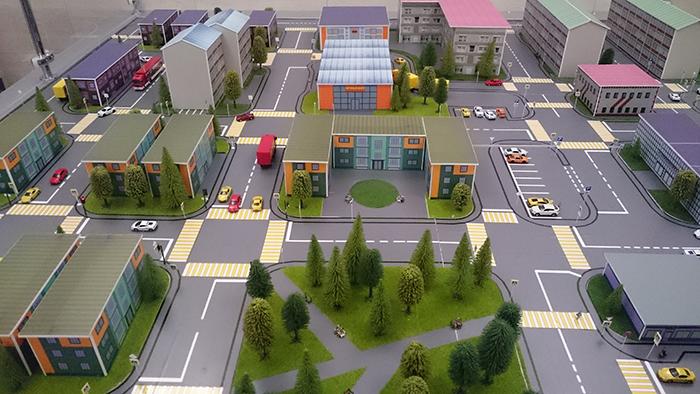 Макет организации городского общественного транспорта