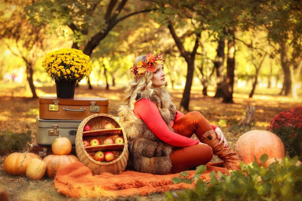 Моя Осень . Осенний образ