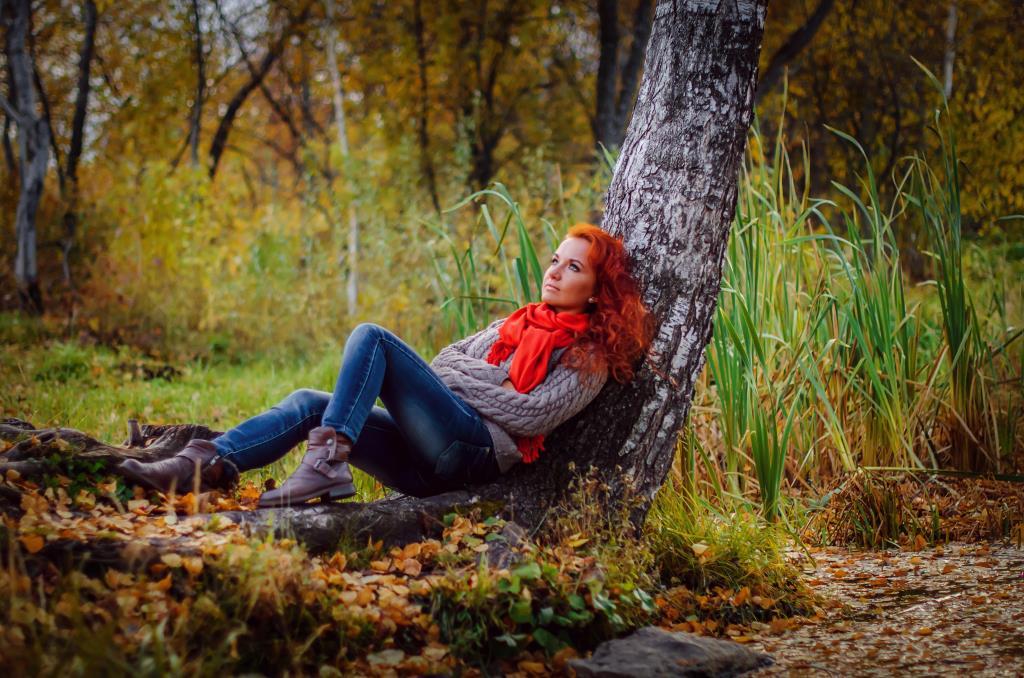 Лилия. Осенний образ