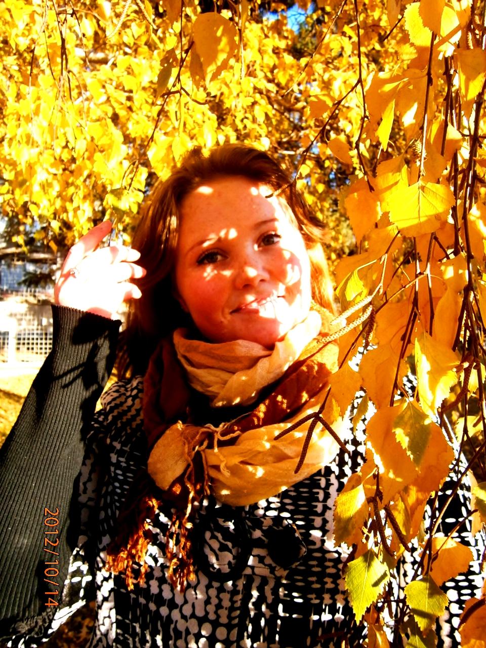 Сама девушка Осень))))))). Осенний образ