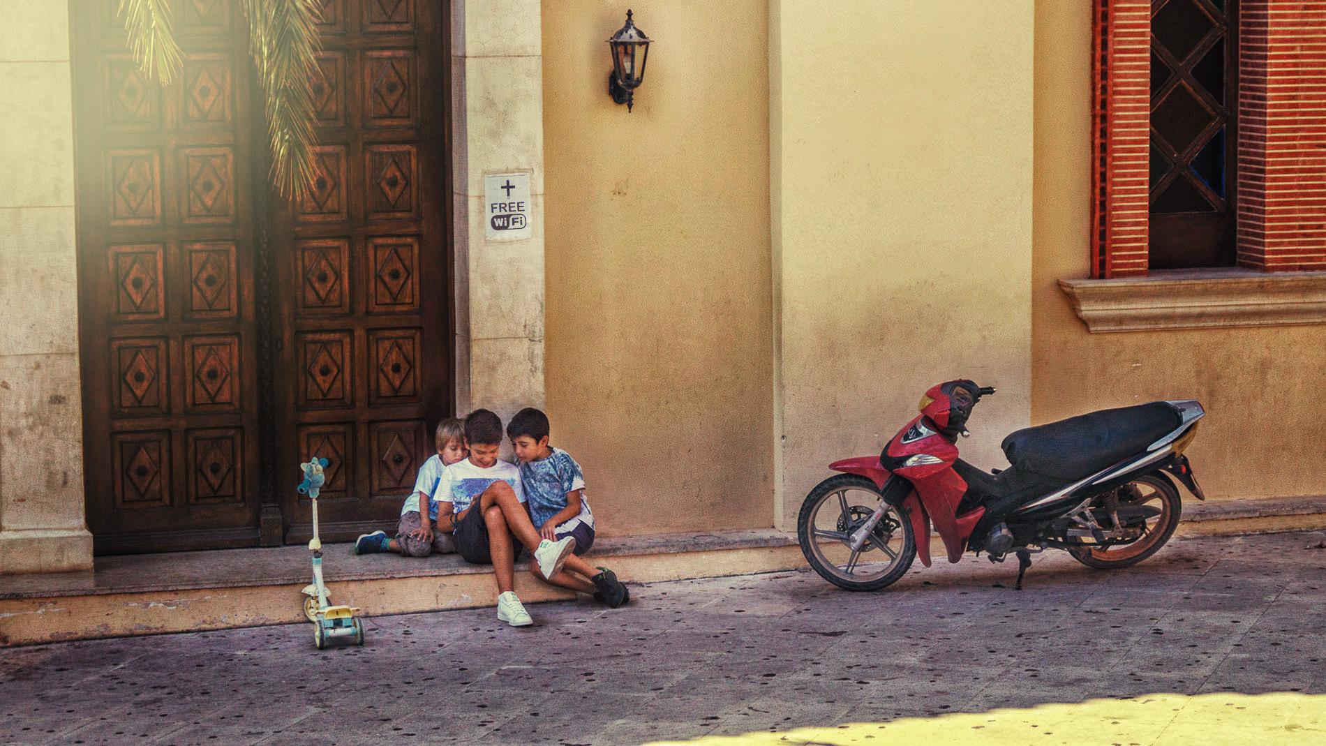 'Современная религия'. Дети в интернете