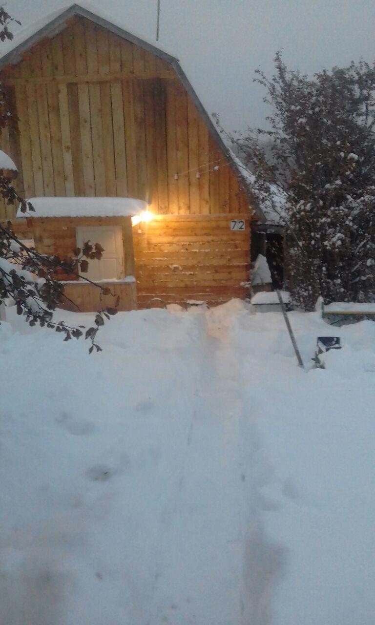 Домик в деревне. Блиц: зима