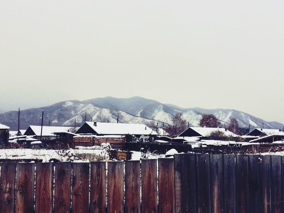 Тихо дремлят дома в объятиях зимы... Блиц: зима
