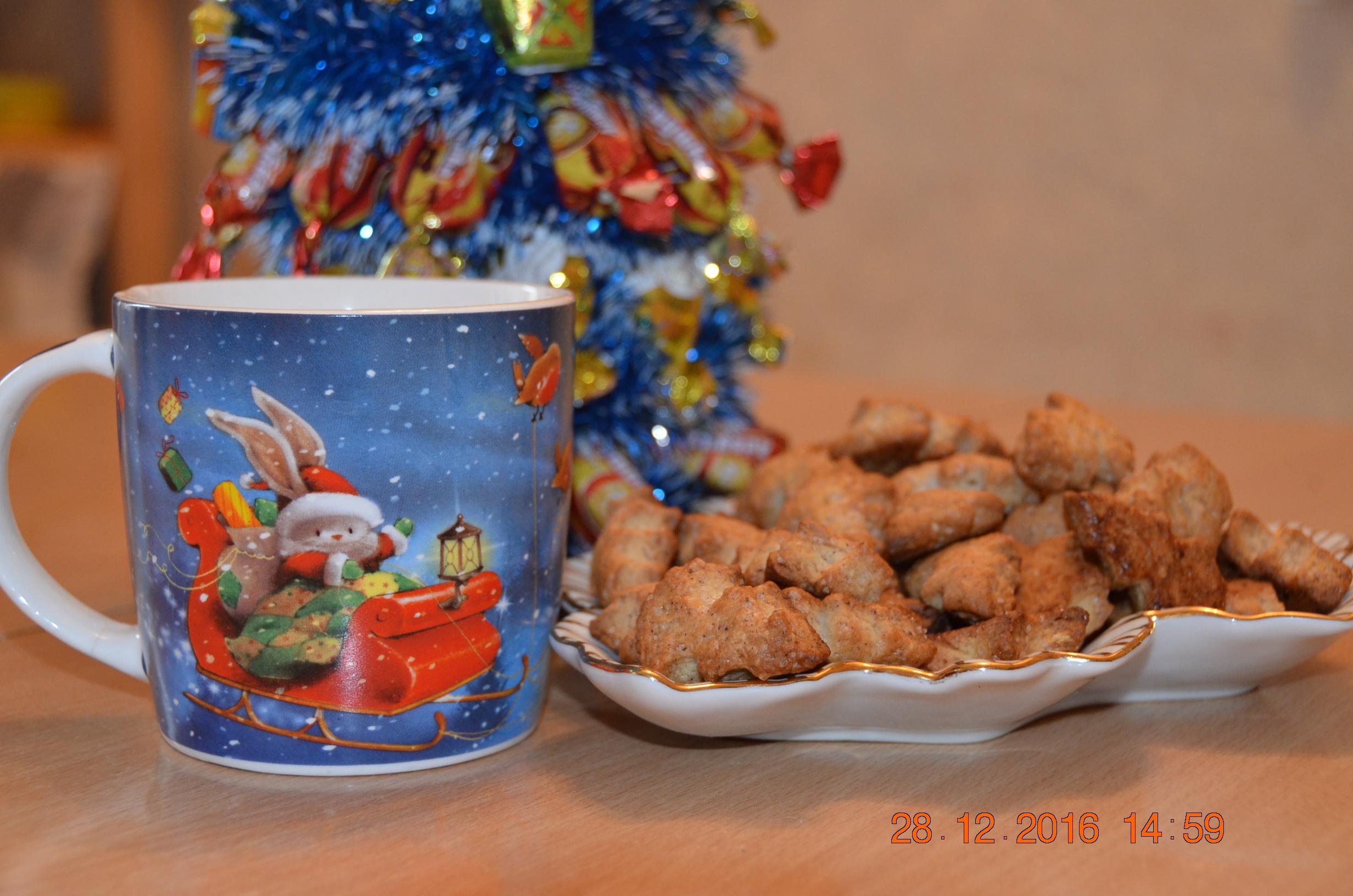 Новый год к нам мчится). Блиц: чашка