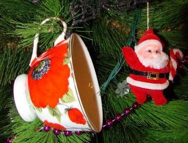 Новогодний привет от Деда Мороза . Блиц: чашка
