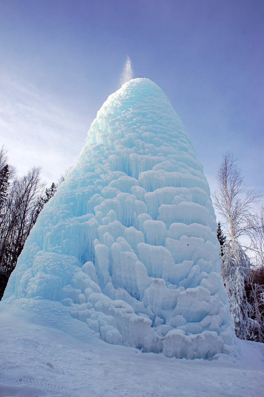 Сосулька. Блиц: из снега и льда