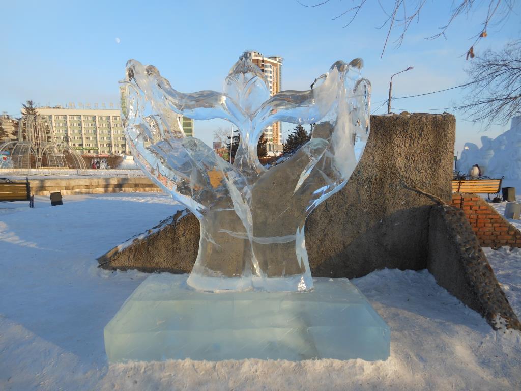 Руки ДОБРОТЫ. Блиц: из снега и льда