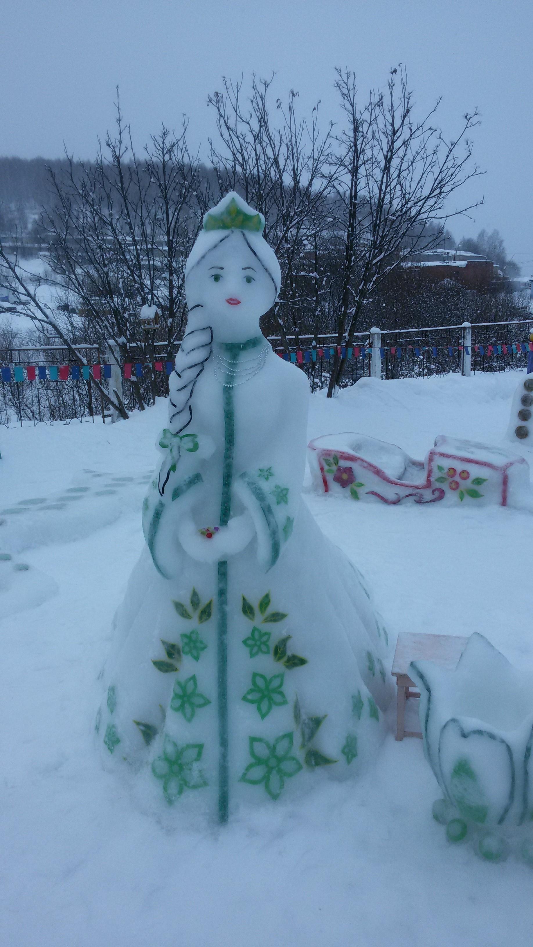 Хозяйка Медной горы. Блиц: из снега и льда