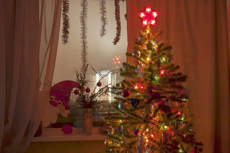 С Новым годом!. Блиц: новогодняя елочка
