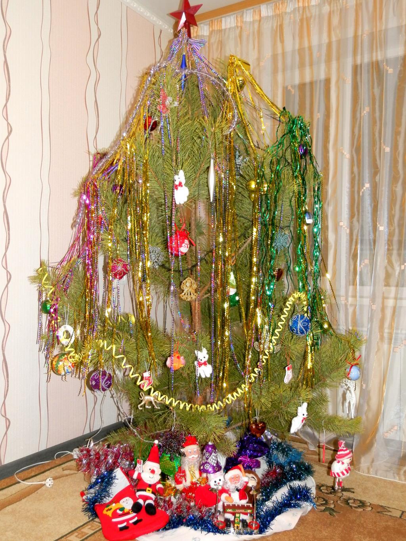 Наша ёлочка-волшебница))). Блиц: новогодняя елочка