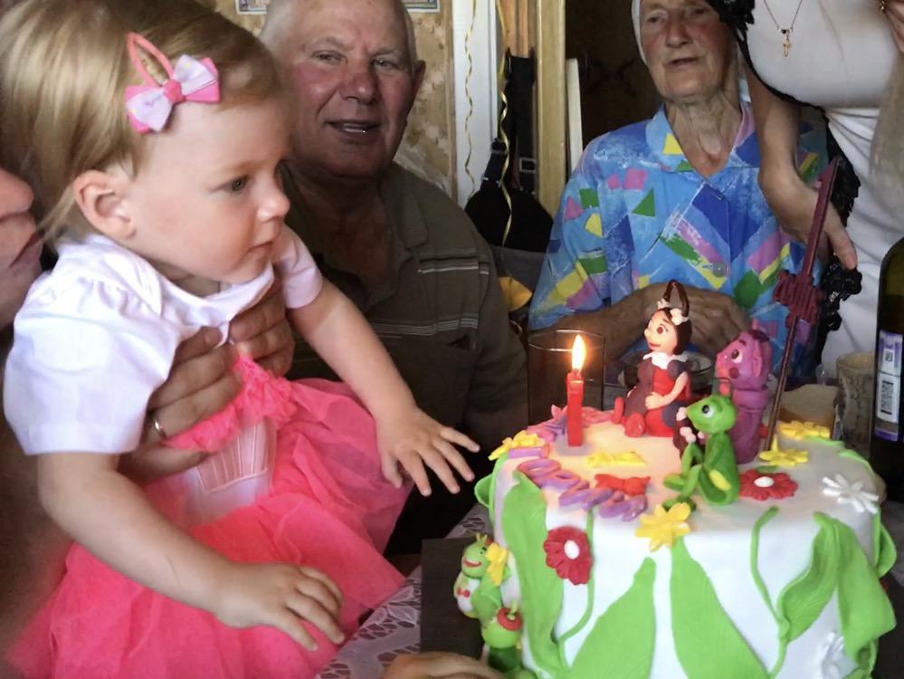 Викусе 1 годик!. Поздравление с Днем Рождения