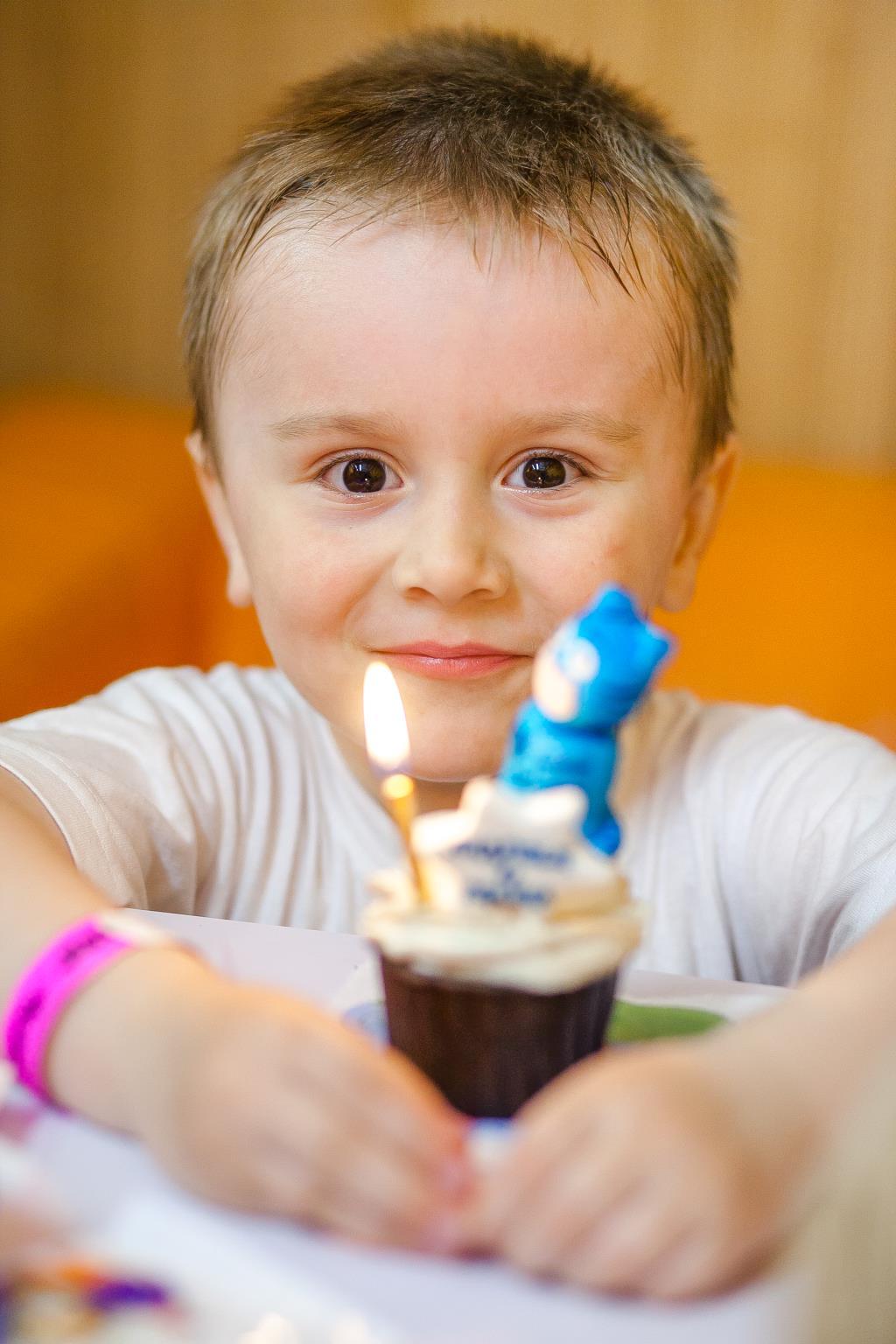 Андрею 4 года. Поздравление с Днем Рождения