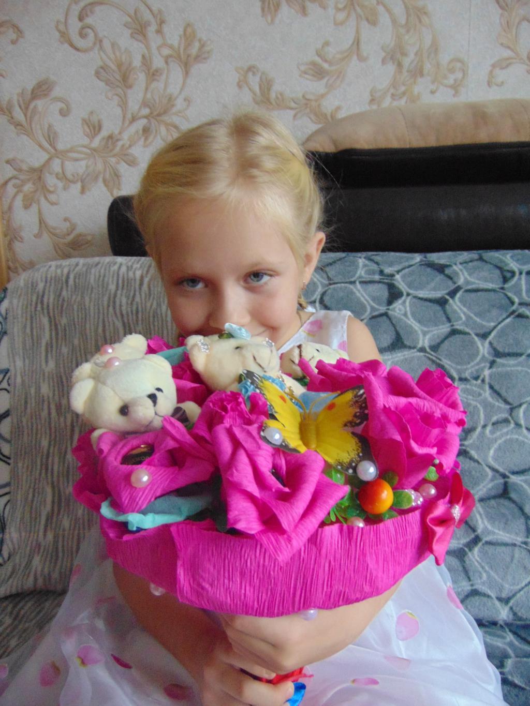 Лизоньке 8 лет. Поздравление с Днем Рождения
