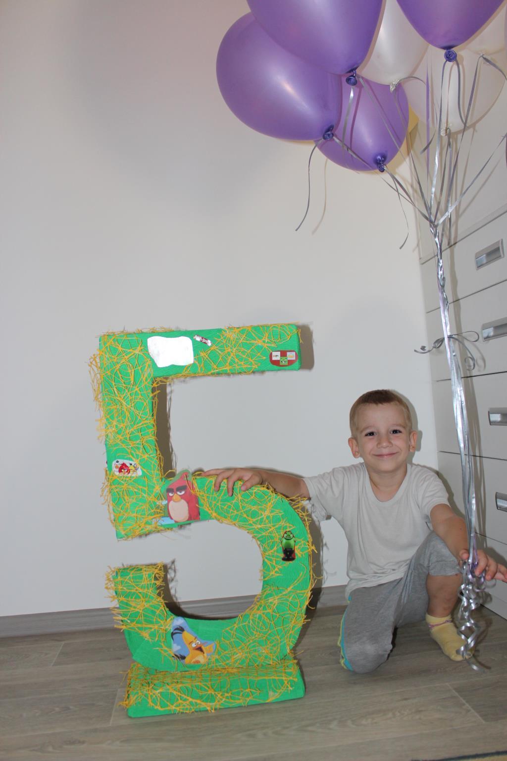 Я большой - мне 5 лет!!!. Поздравление с Днем Рождения