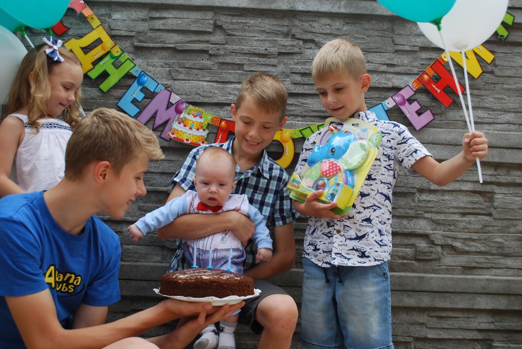 Наш маленький день рождения: 3 месяца!. Поздравление с Днем Рождения