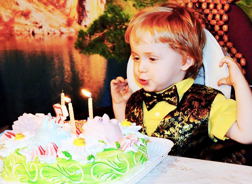 Мой третий день рождения!. Поздравление с Днем Рождения
