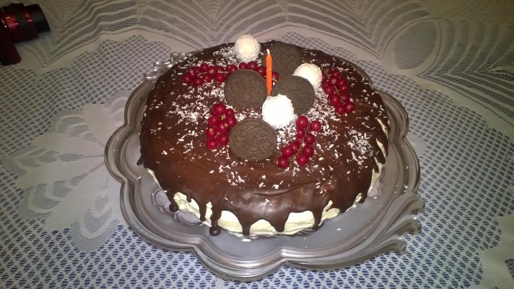 Первый тортик. Блиц: торт