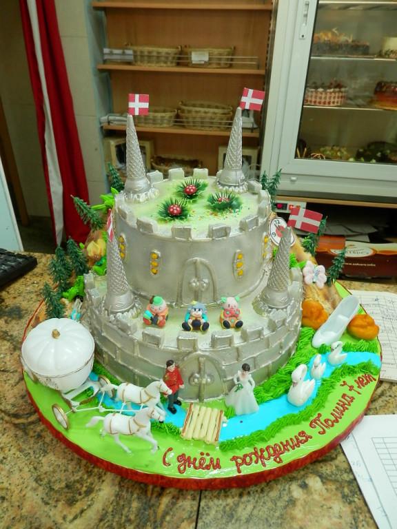 Торт на день рождения. Блиц: торт