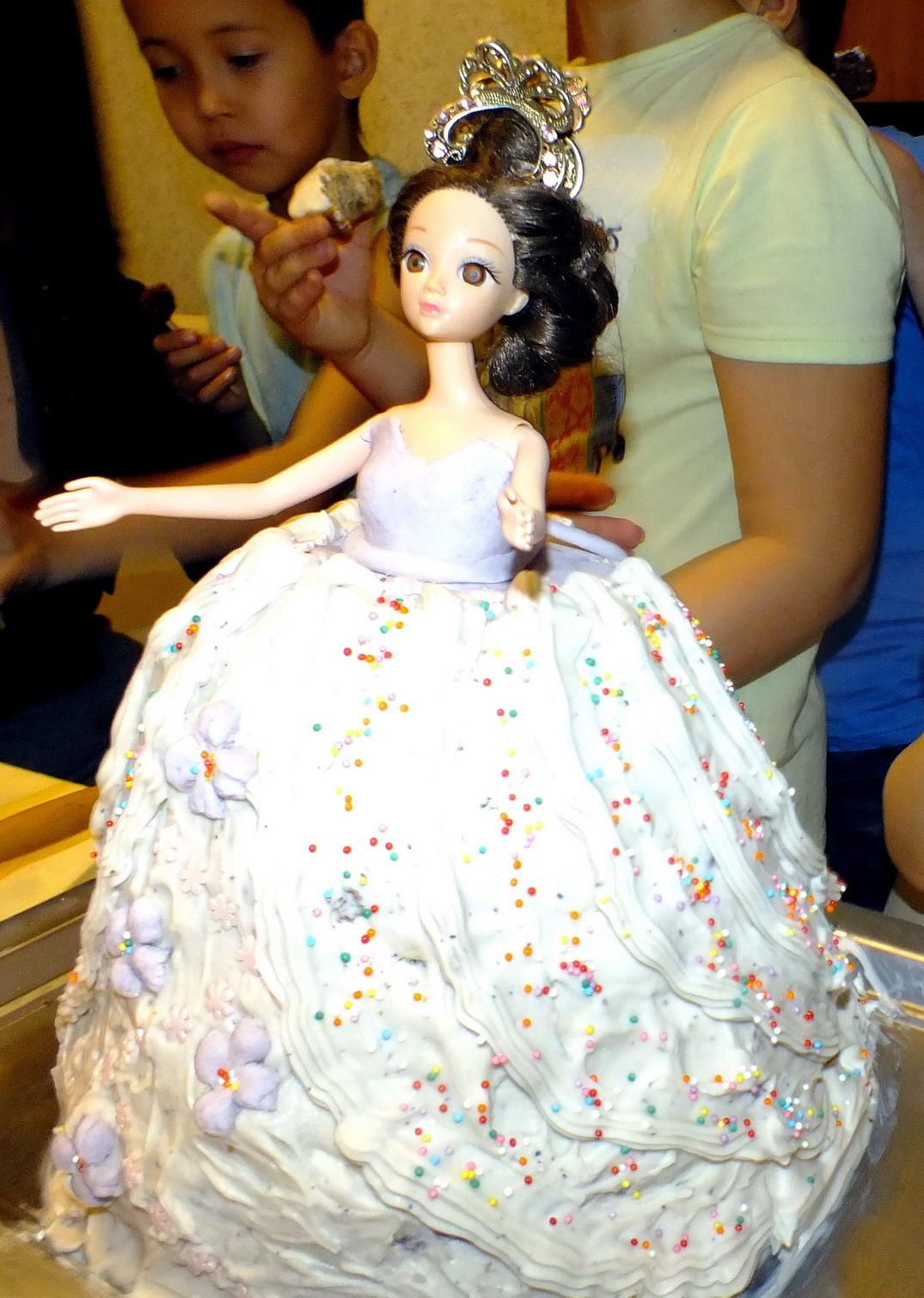 торт маленькой принцессы. Блиц: торт