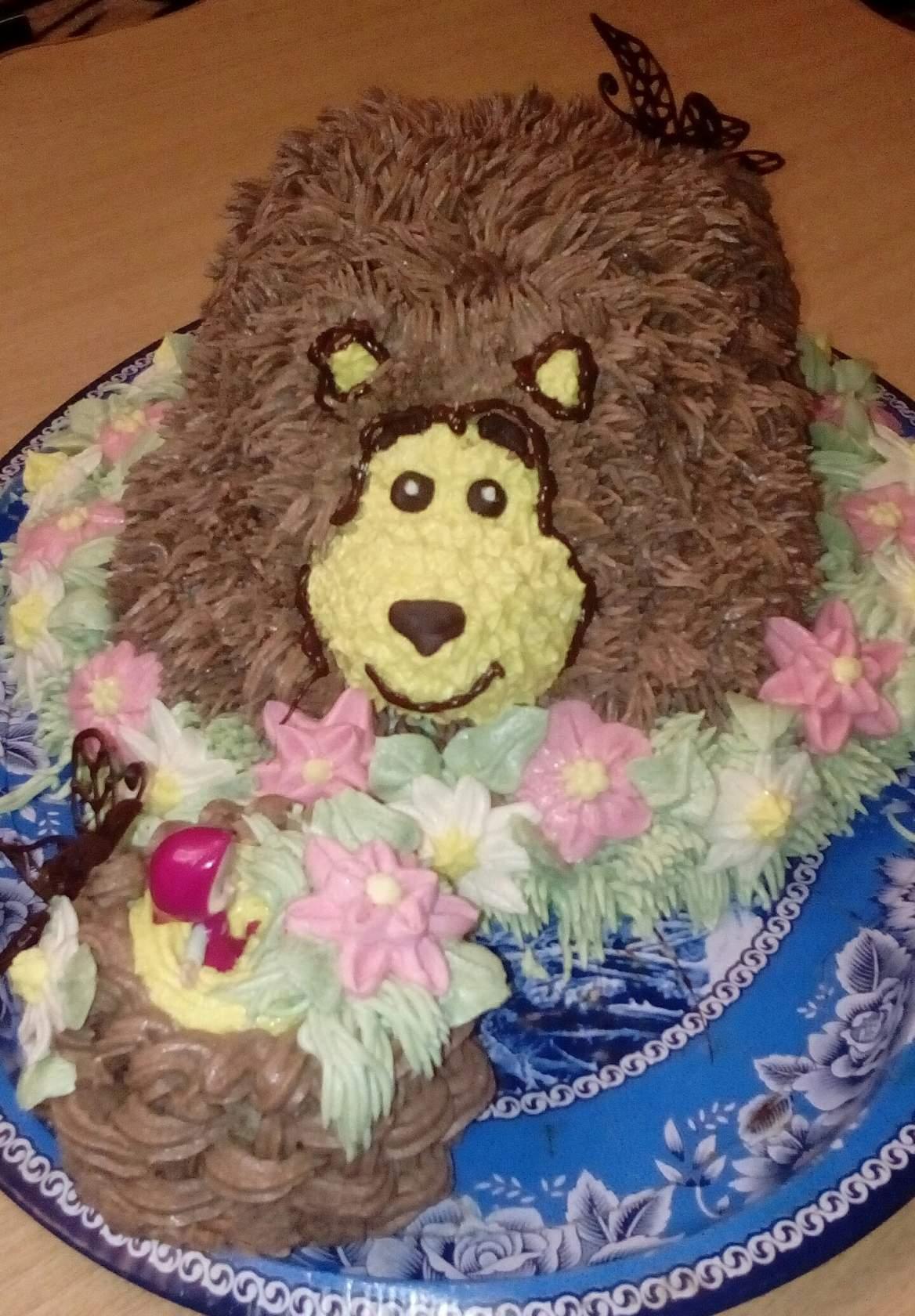Маша и медведь. Блиц: торт
